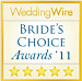 2011 Wedding Wire Bride's Choice Award