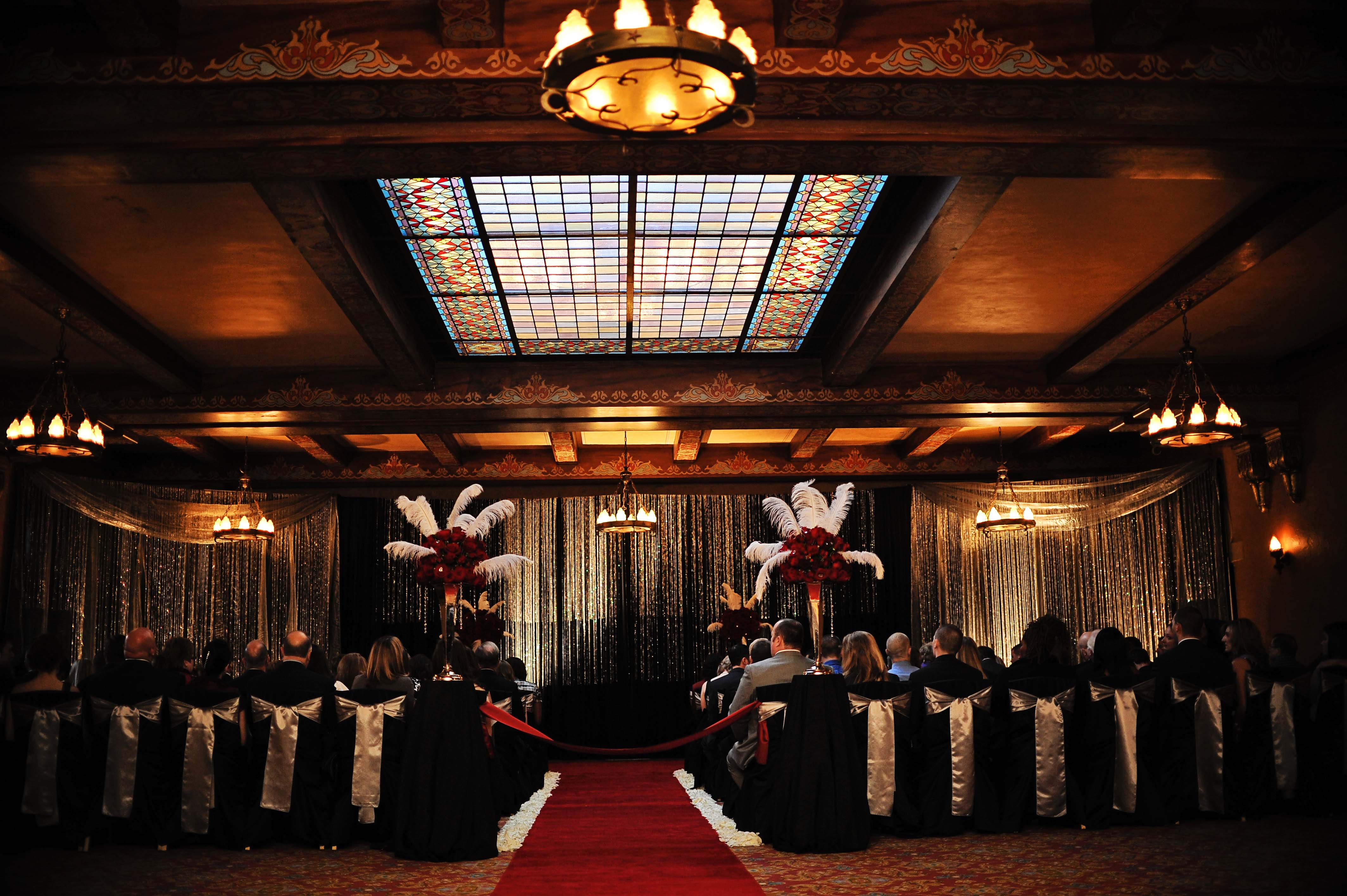 Brittany Eric At The Fox Theatre Design House Weddings