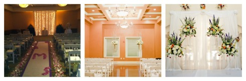 You may choose Indoor Ceremony such as Lake Lanier Islands, The Strand or Chateau Elan