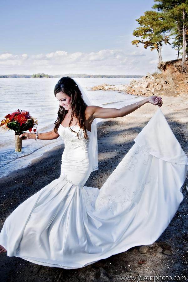 katie bryan�s fall wedding at lake lanier islands